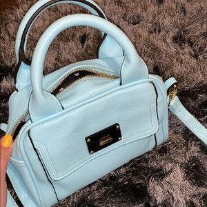 Blue Merona purse!